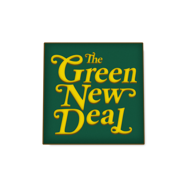 Green New Deal Enamel Pin