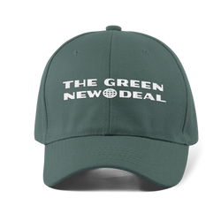 Green New Deal Dad Hat