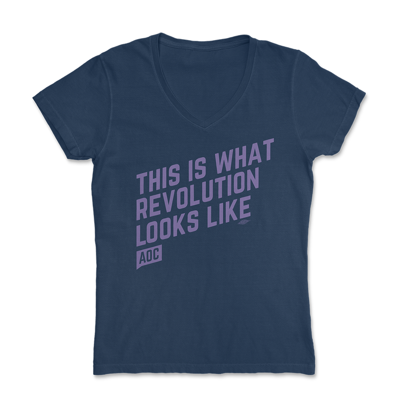 Revolution V-Neck Tee (Fitted)