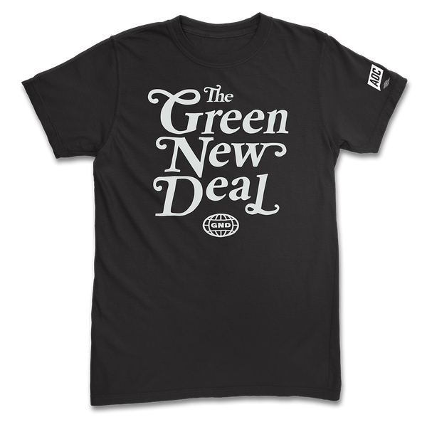 Black Green New Deal Tee (Unisex)