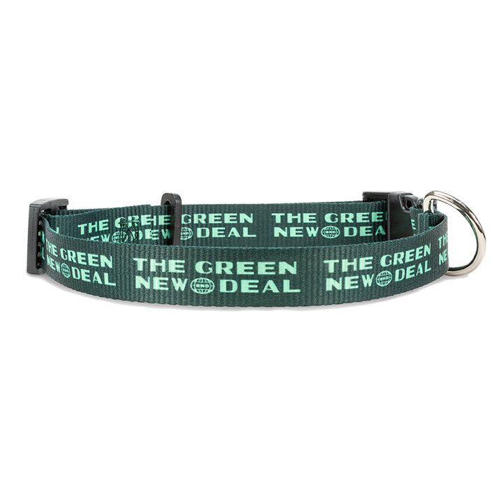 Green New Deal Dog Collar