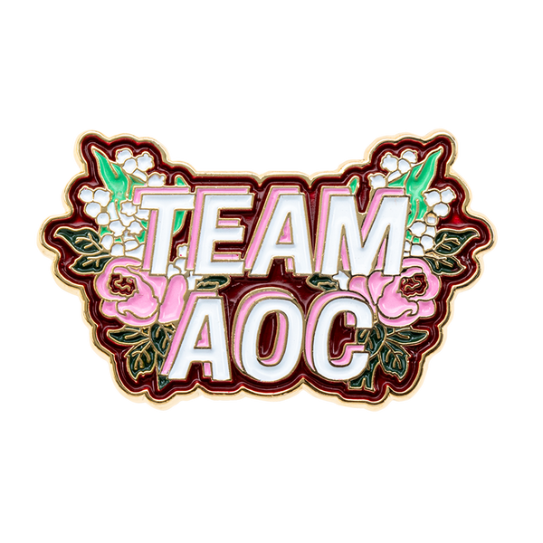 The Unapologetic Street Series Team AOC Enamel Pin