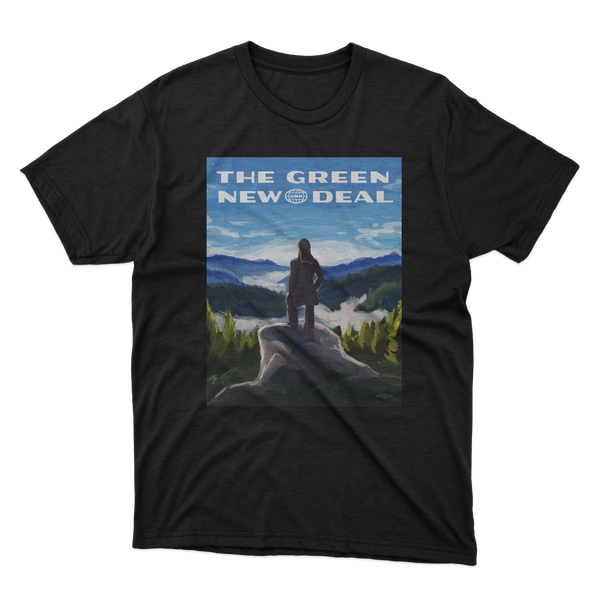 Green New Deal Illustration Tee