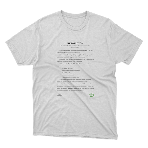 Green New Deal Bill Tee