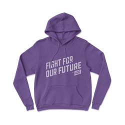 "Sudadera con capucha ""Fight For Our Future"" para jóvenes"