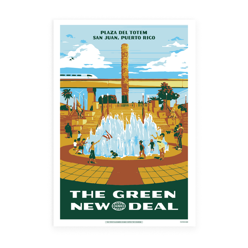 Green New Deal Poster Pack