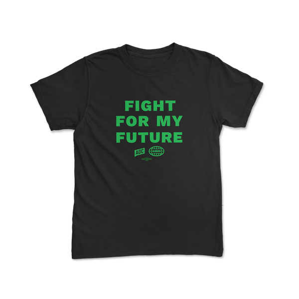 """Fight For My Future"" Youth Black Tee"