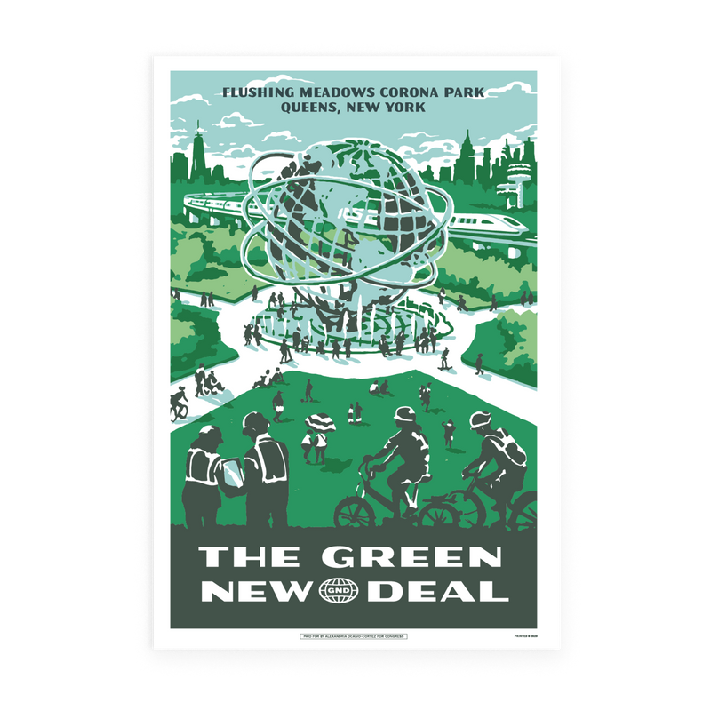 Flushing Meadows GND Poster