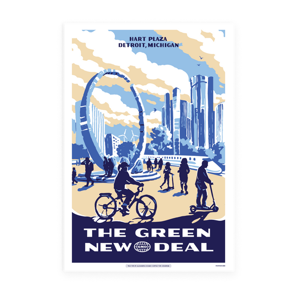Hart Plaza GND Poster