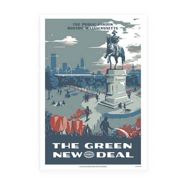 The Public Garden GND Poster