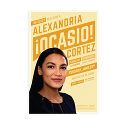 Yellow 2020 Campaign Poster
