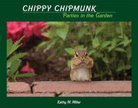 Chippy Chipmunk Parties in the Garden