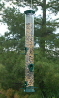 Sunflower Tube Feeder 23 inch Green