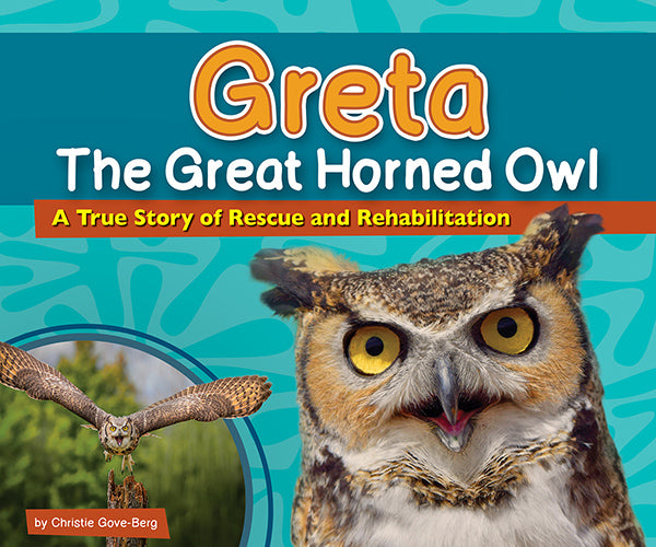 Greta the Great Horned Owl