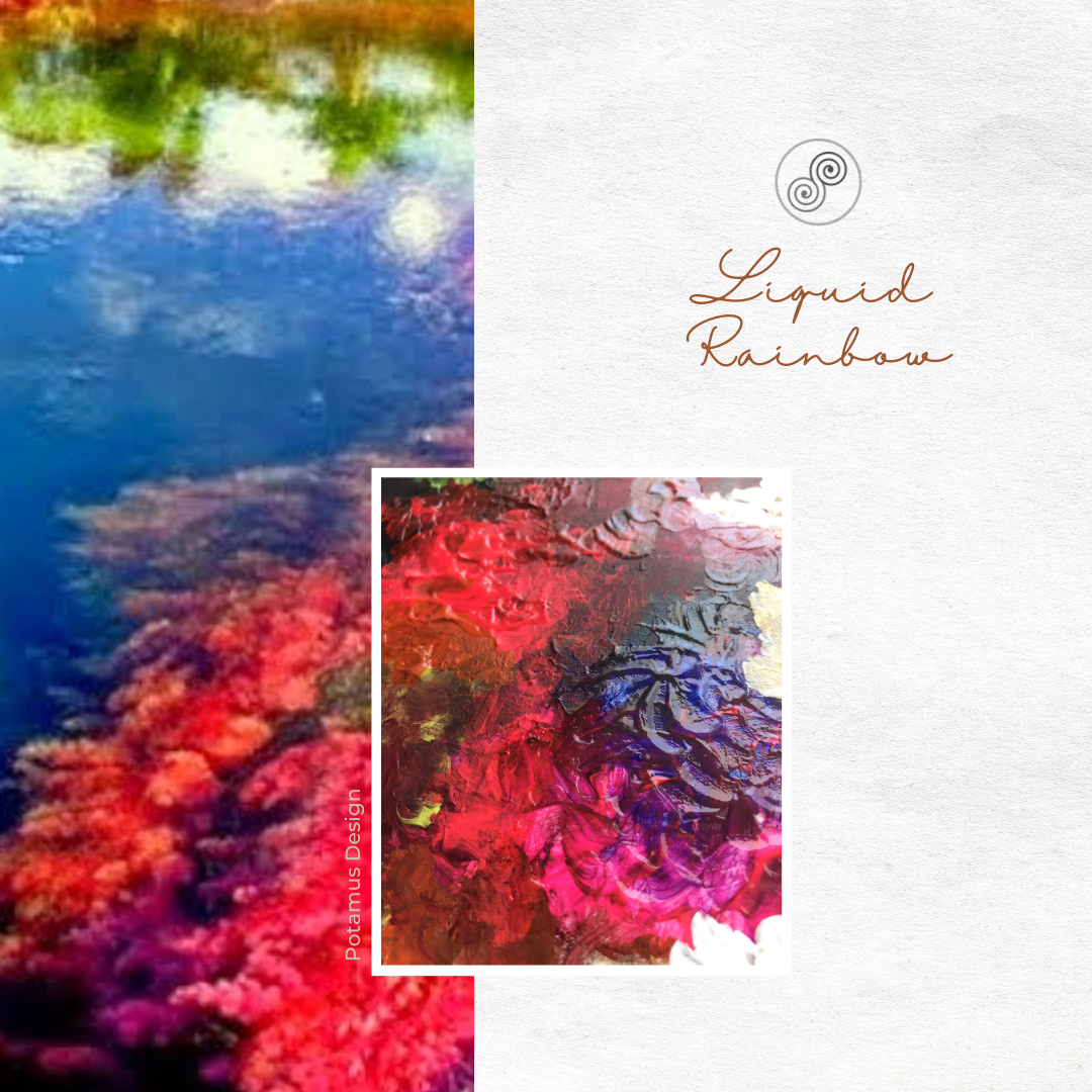 Liquid Rainbow - Art - Potamus Design