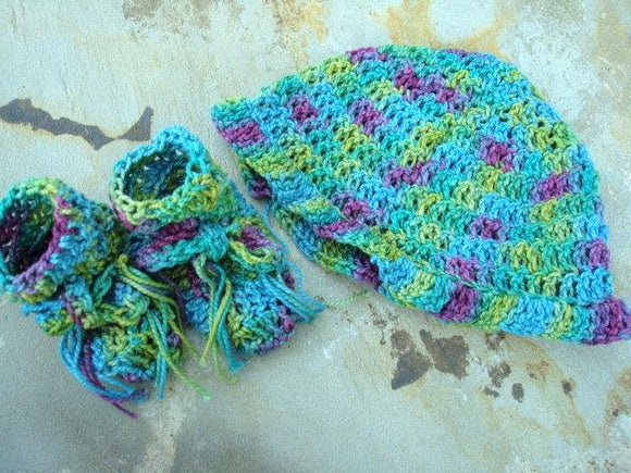 Hat and Bootie Sets