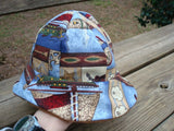 Lightweight Cotton Baby Boy's Summer Sunhat with Sailing Theme - Anchor Away 651