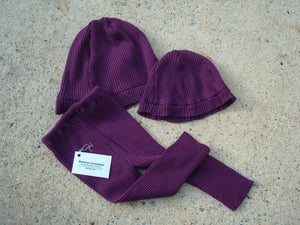 Mother Daughter Matching Recycled Fiber Hat Set with Toddler Pants - Emelia