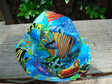 Sea Life Unisex Baby's Cotton Summer Sunhat - Aquarium 650