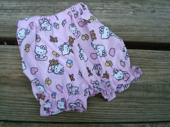 Newborn Baby Girl's Cotton Panty Shorts - Hello Kitty 726