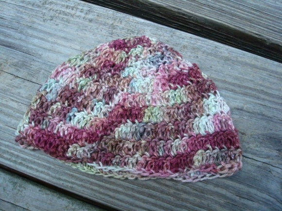 Hand Painted All Bamboo Baby Boy's Boutique Beanie Hat - Maple Syrup 782