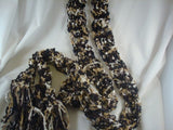 Skinny and Sophisticated  Multicolored Dressy Scarf - Italia 388C