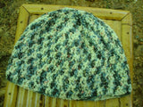 Wool Blend Toddler Boys Crocheted Winter Beanie Hat - Cloudy 455