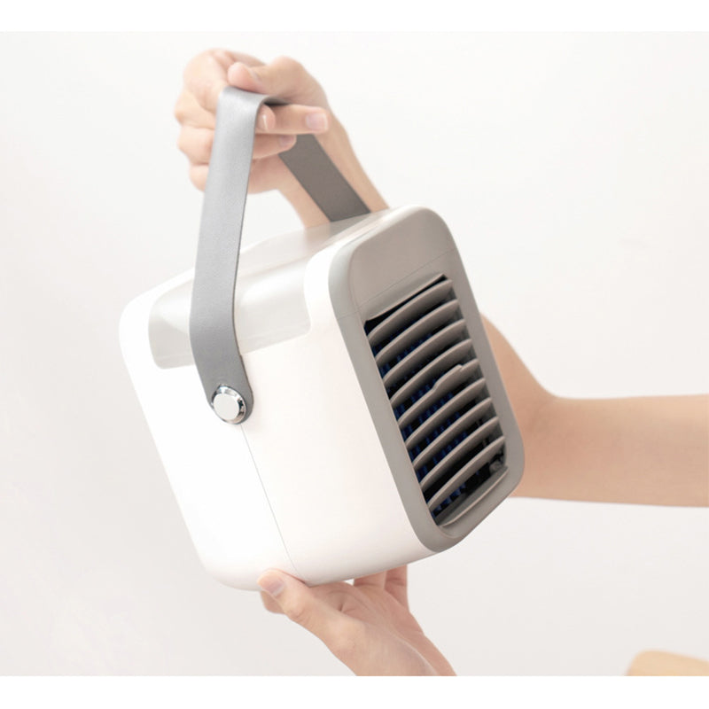 New Portable Cooler Fan with Humidifier LED Night light