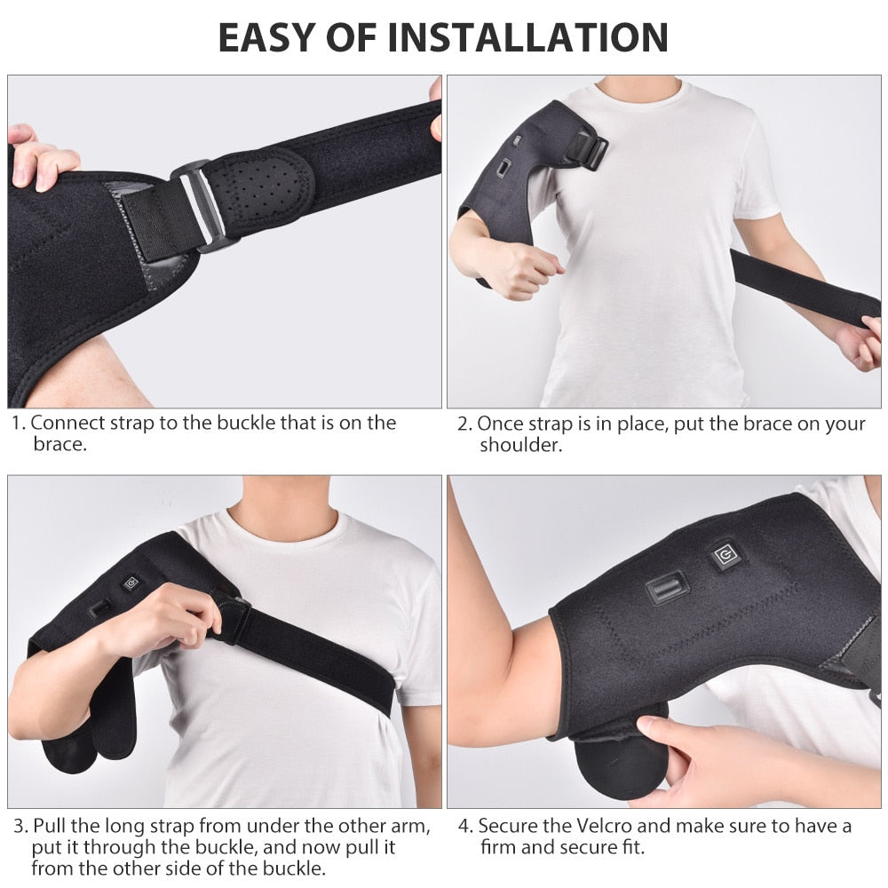Electric Therapy Shoulder Brace