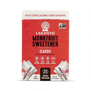 Monk Fruit 1:1 Sugar Substitute - 3Gx30 Sweetener Packets