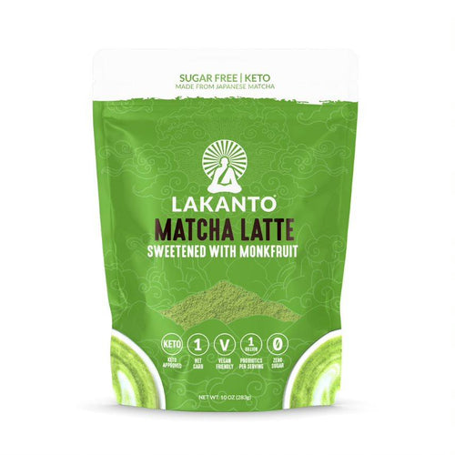 Lakanto Matcha Latte Drink Mix Sweetened with Monk Fruit - 10 oz