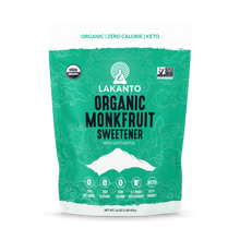 Load image into Gallery viewer, Lakanto Organic Monk Fruit Sweetener with Erythritol 1:1 Sugar Substitute - 16 OZ