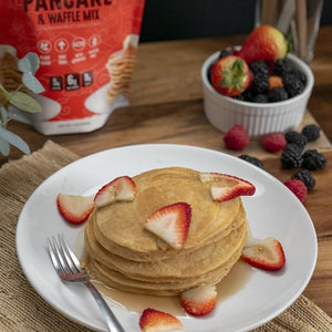 Pancake & Waffle Mix 1 LB  Gluten-Free with Maple Flavored Syrup Available