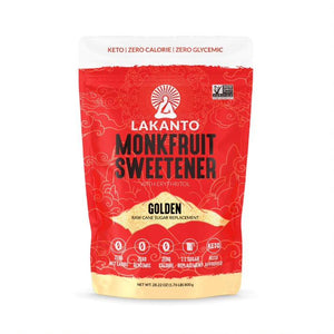 Lakanto Golden Monk Fruit Sweetener with Erythritol 1:1 Sugar Substitute - 28.22 oz 1.76 lb