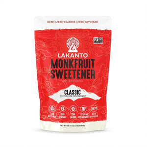 Lakanto Classic Monk Fruit Sweetener with Erythritol 1:1 Sugar Substitute - 28.22 oz 1.76 lb
