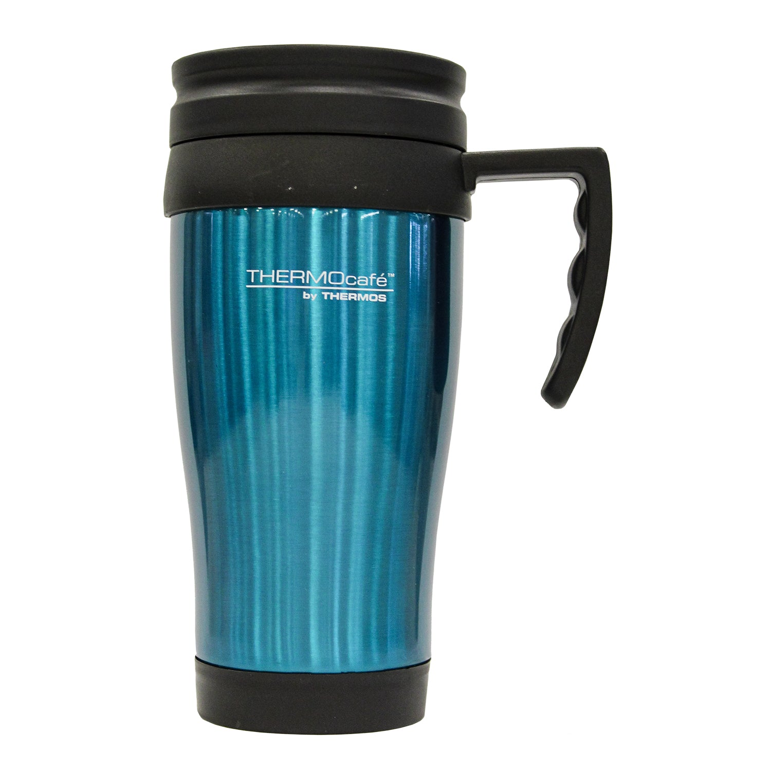 Mug Acero Inoxidable 420ml Turquesa