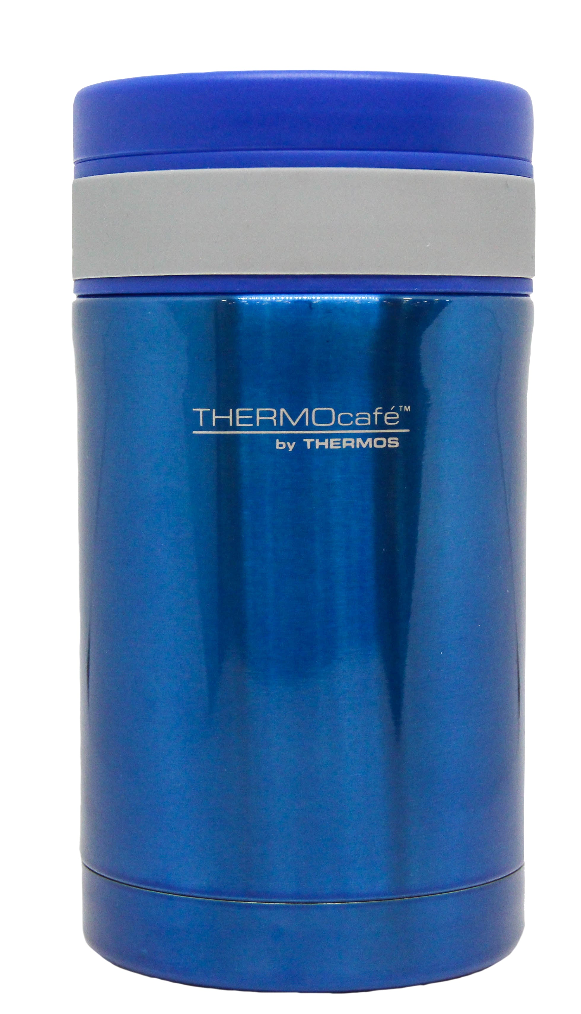 Termo Comida Acero Inoxidable Azul Thermoscafe 500Ml