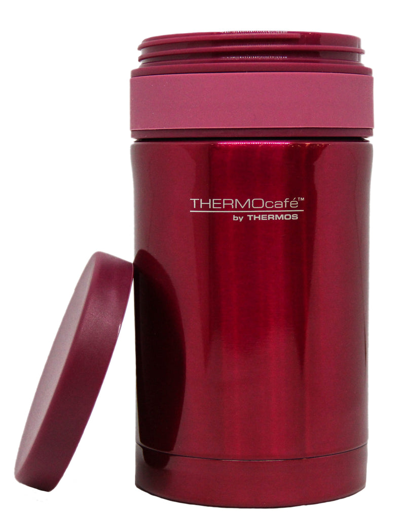 Termo Comida Acero Inoxidable Rosa Thermoscafe 500Ml
