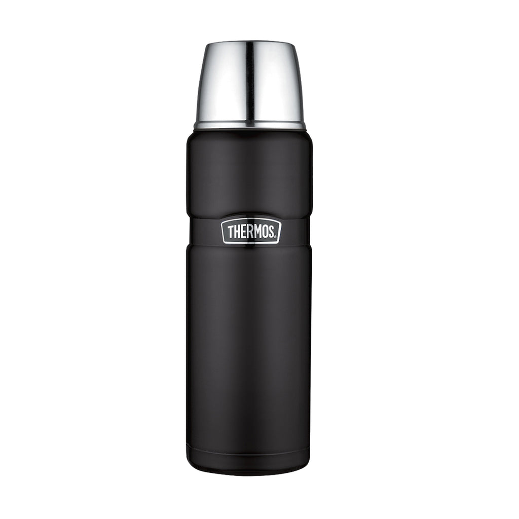 Thermo Liquido 470ml King Acero Inox Negro