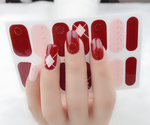 Criss Cross Gel Nail Wraps