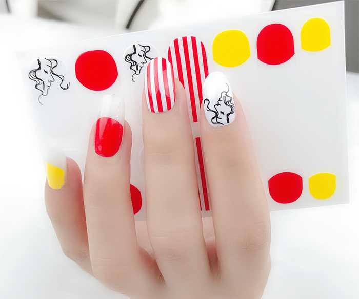 Candy Girl Gel Nail Wraps