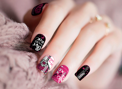 Valentine Love Nail Wraps