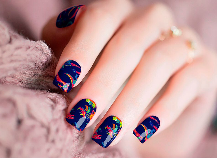 Prehistoric Days Nail Wraps