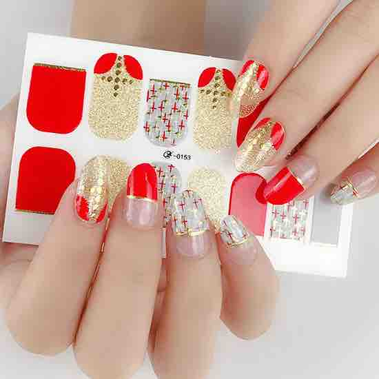 Heavenly Gel Nail Wraps
