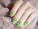 Merry Christmas Nail Wraps