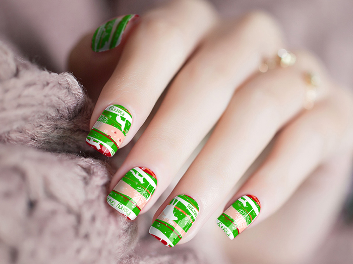 PREORDER<br>Merry Christmas Nail Wraps<br>SHIPPING DEC 1ST