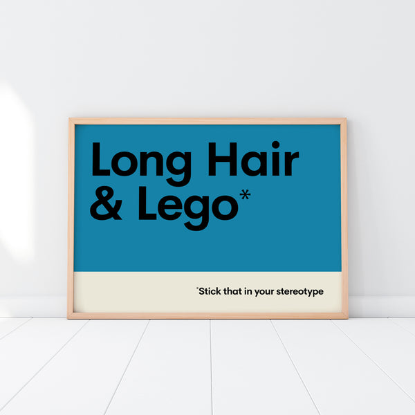 Long Hair & Lego