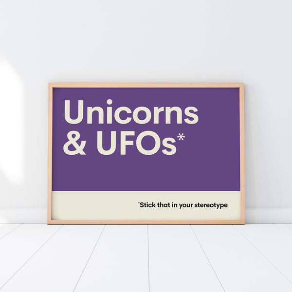 Unicorns & UFOs