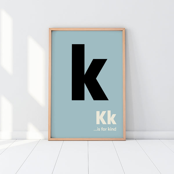 K is for...