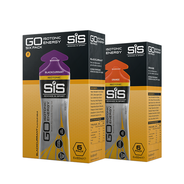 Science In Sports - Go Isotonic Energy Gel 6 x 60 ml Pack